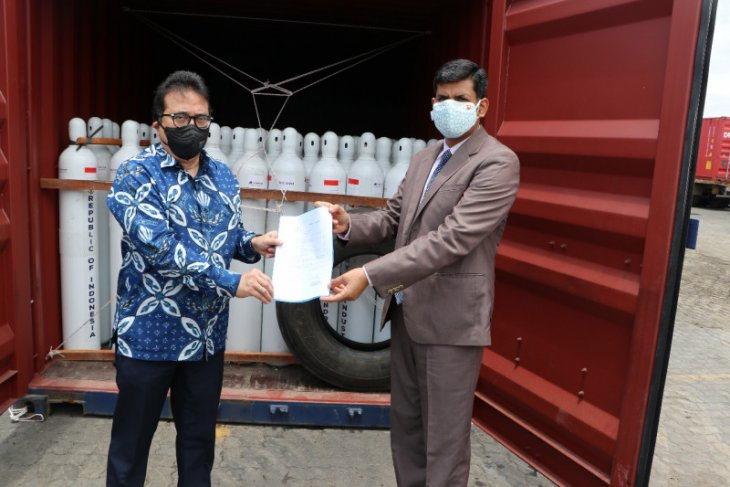 Indonesia provides 1,400 oxygen concentrators to India
