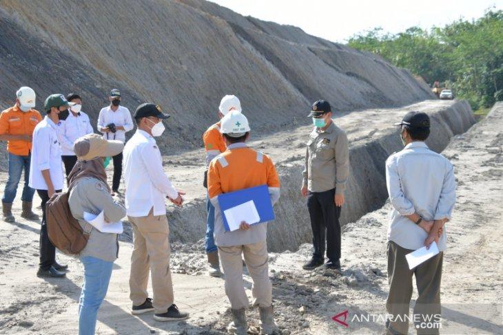 Tim teknis pastikan pengendalian limbah tambang PT AGM selesai target