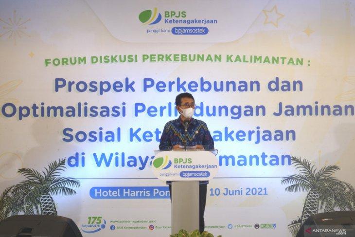 Kepesertaan di BPJS Ketenagakerjaan sejalan ISPO