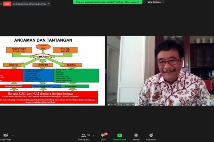 Untag Surabaya ajak generasi milenial contoh figur Bung Karno