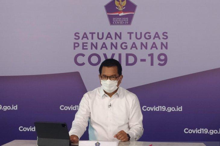 Satgas:  Peningkatan kasus COVID-19 nasional lebih rendah, di Kudus capai 7.594 persen
