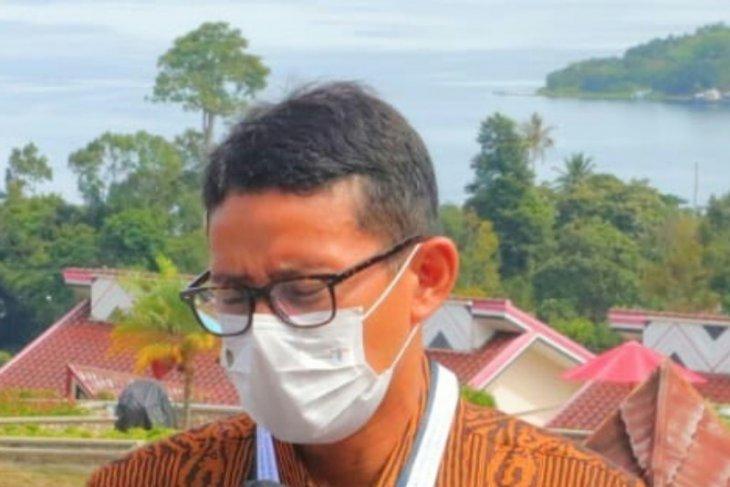 Sandiaga tekankan peningkatan  kunjungan ke Danau Toba