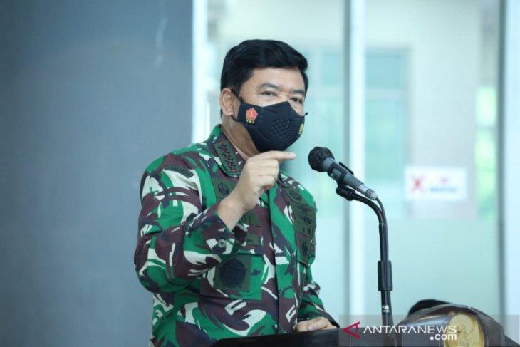 Panglima TNI-Kapolri adakan rapat penanganan COVID-19 di Kediri-Jatim