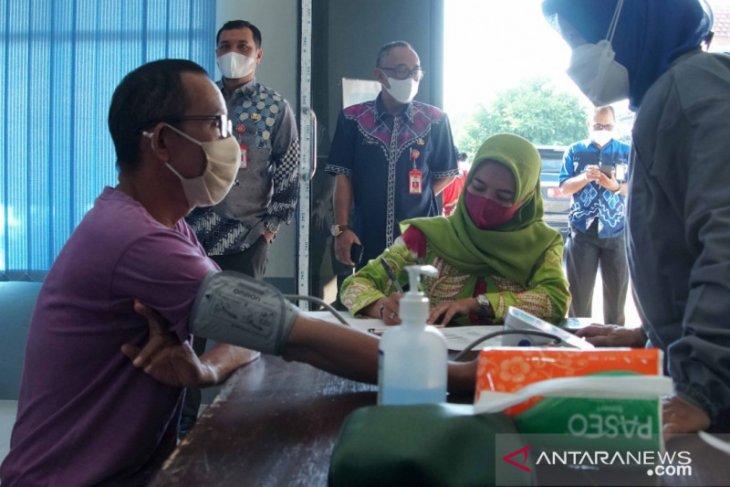 Pertama di Kalsel Banjarbaru vaksinasi penyandang disabilitas