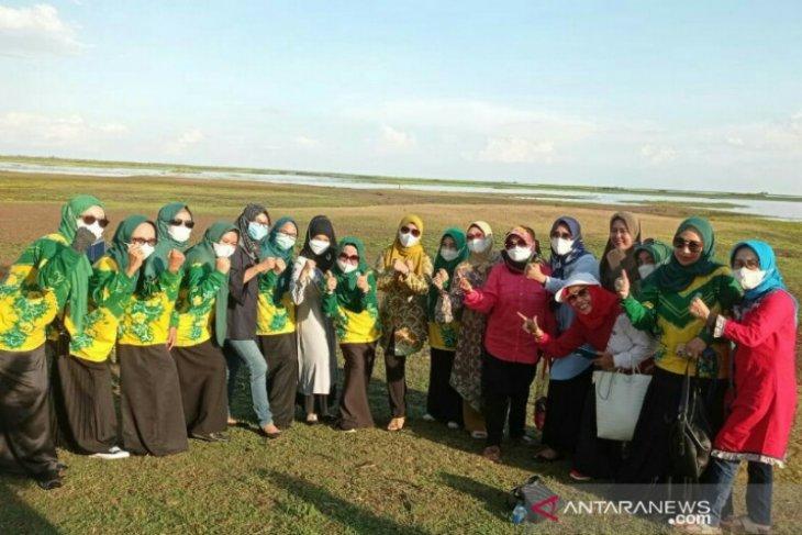 Pj Ketua PKK Kalsel kunjungi Paminggir