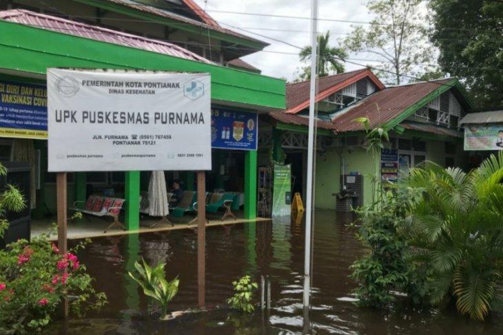 Dinkes Pontianak: Puskesmas Purnama tidak dapat layani pasien akibat banjir