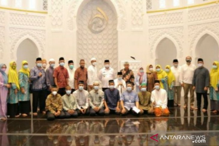 Gubernur Babel resmikan Masjid Jami' Soeprapto Suparno