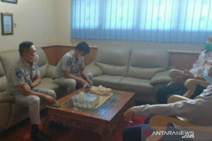 Jasa Raharja Bangka Belitung kunjungan kerja ke Dinas Perhubungan Babel
