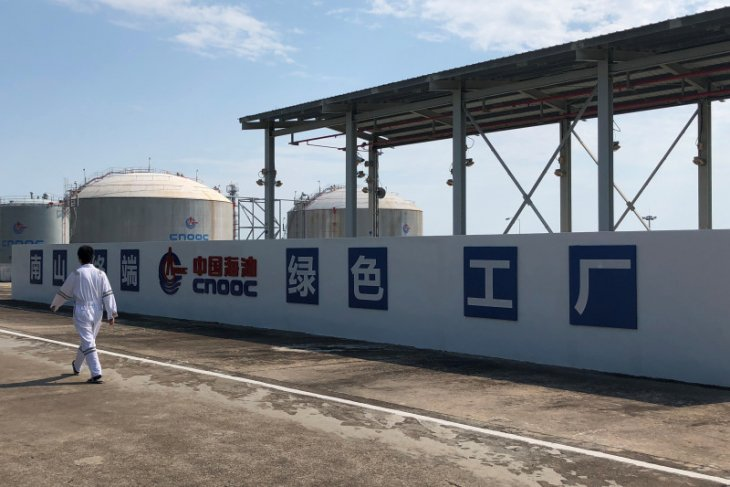 China akan salip Jepang sebagai pembeli LNG terbesar dunia