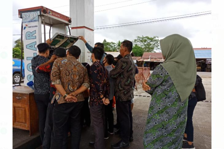 Tera SPBU milik PT UKM di Kapuas Hulu langgar aturan