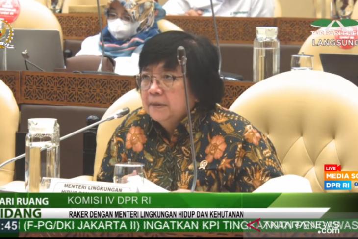 Menteri LHK sebut titik terendah deforestasi tercapai pada 2020