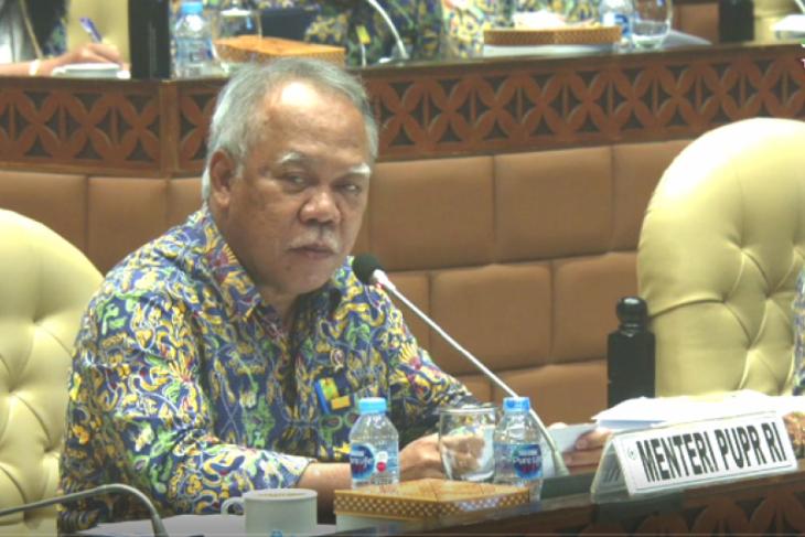 Menteri PUPR jelaskan raperpres pengelolaan air akan dibahas antar kementerian