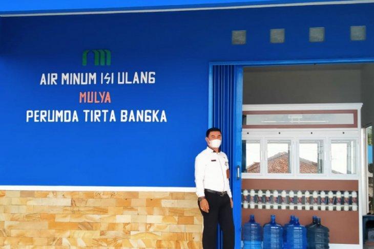 Perumda Tirta Bangka kembangkan usaha air mineral