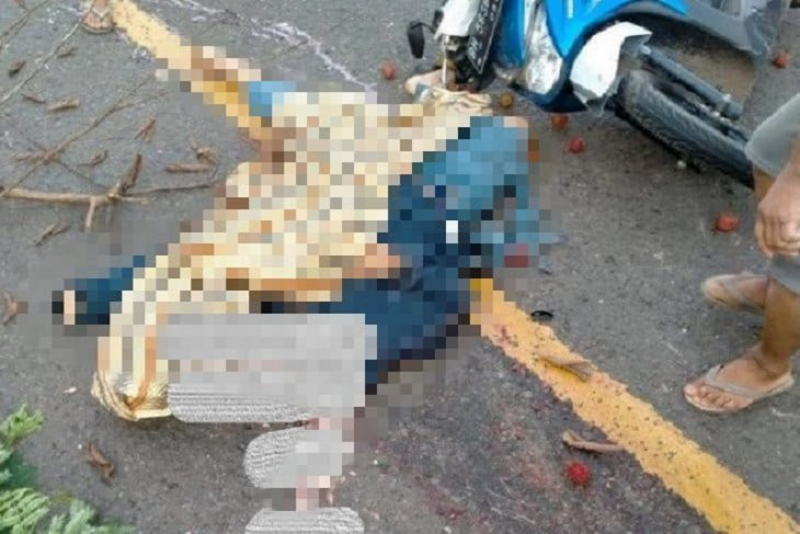 Seorang pemuda tewas jadi korban tabrak lari dengan kondisi kepala mengenaskan