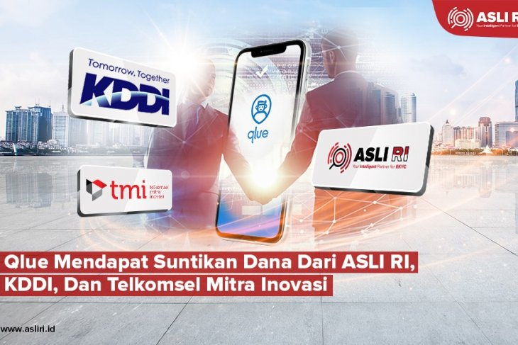 Qlue mendapat pendanaan dari ASLI RI, KDDI, Telkomsel Mitra Inovasi
