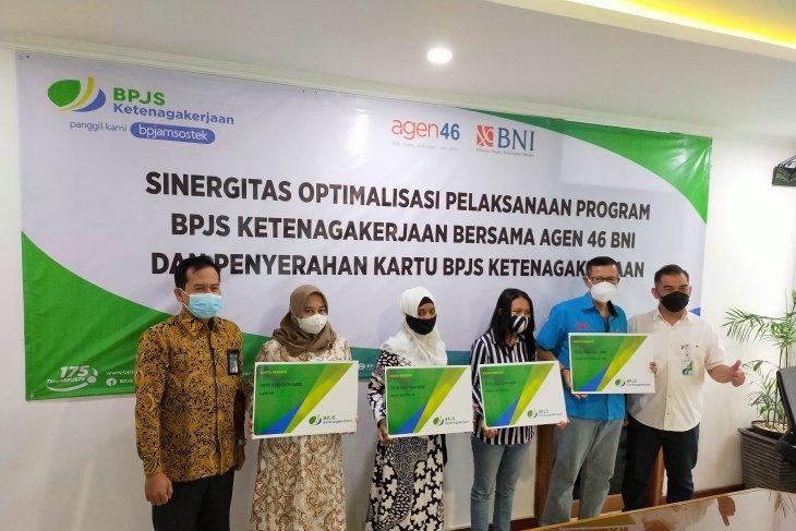 BNI Surabaya daftarkan 731 agen46 jaminan sosial ketenagakerjaan