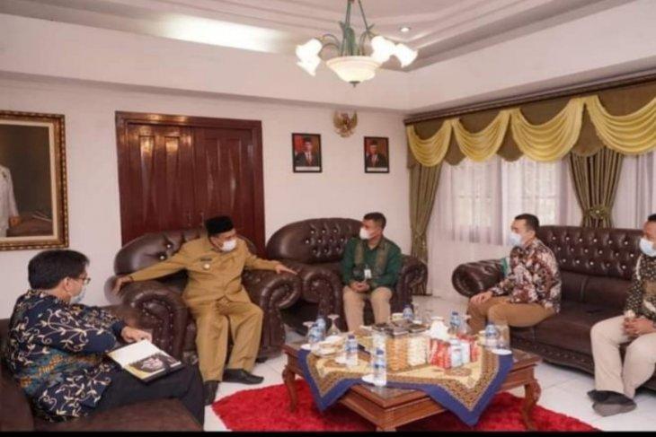 Wali Kota Tebing Tinggi terima audiensi  Bank Syariah Indonesia