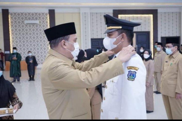 115 pejabat Administrator Pemkot Tebing Tinggi dilantik