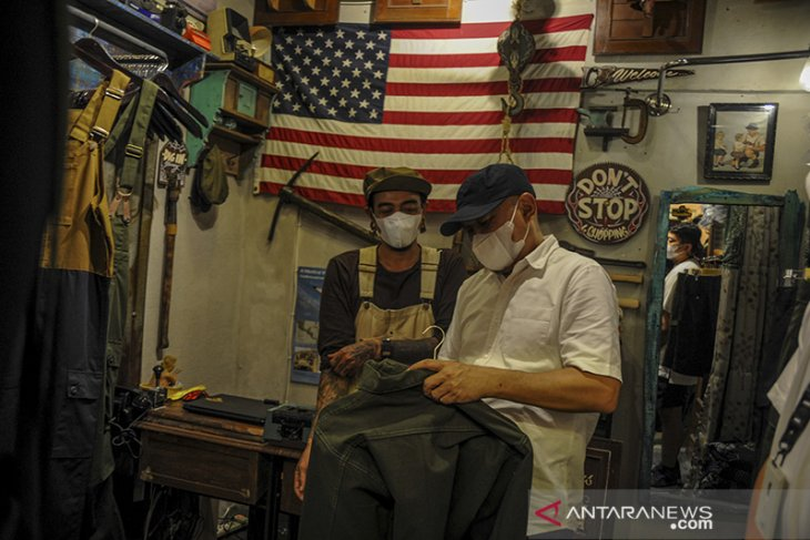 Kunjungan kerja Menkop UKM di Bandung