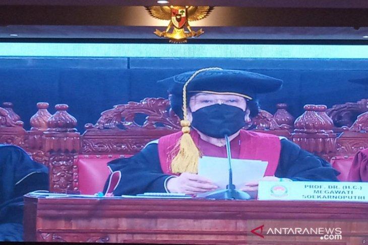 Sejumlah menteri hadiri sidang pengukuhan gelar Profesor Kehormatan Megawati
