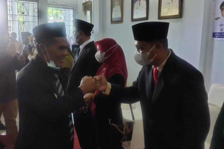 Ini harapan bupati Abdya kepada 12 pejabat eselon II yang dilantik