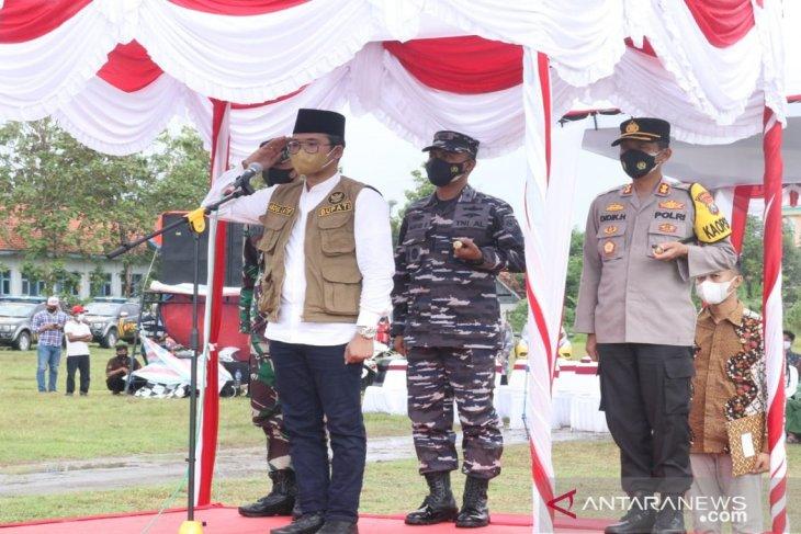 Pemkab Bangkalan berikan sembako kepada warga bersedia divaksin