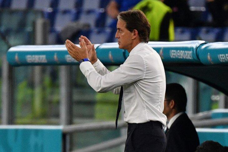 Kami bermain bagus sekali kata Roberto Mancini. Bravo Italia