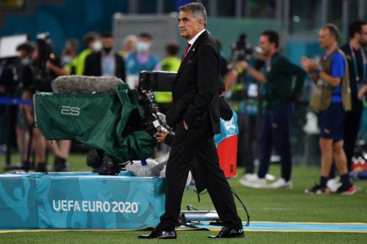 Pelatih Turki akui Italia lebih bagus
