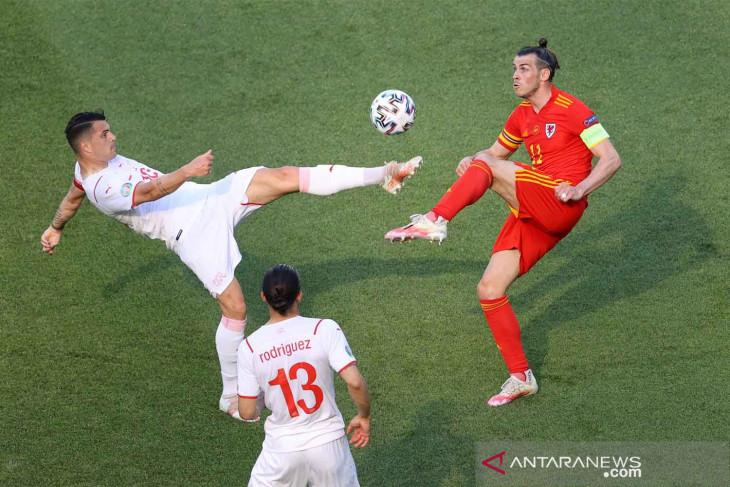 Euro 2020, Wales dan Swiss awali laga berbagi satu poin