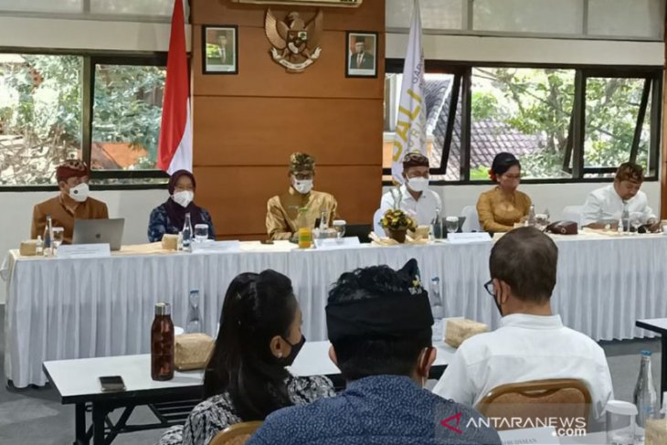 Menparekraf ajak BTB berperan dalam pra-kondisi persiapan pembukaan wisata Bali (video)