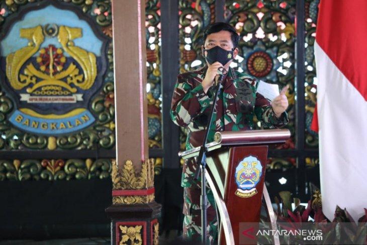 Panglima TNI: Penanganan COVID-19 di Kabupaten Bangkalan wajib optimal