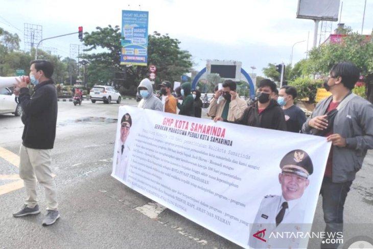 Mahasiswa Samarinda apresiasi 100 hari kinerja Walikota