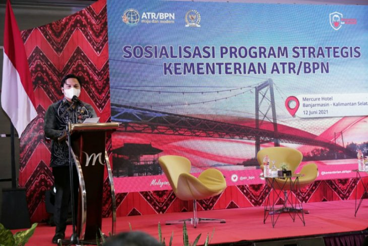 Kementerian ATR/BPN sosialisasi program pendaftaran tanah