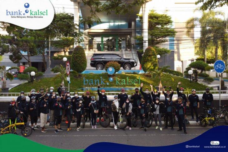 Kiat Bank Kalsel budayakan gemar berolahraga untuk pacu kinerja