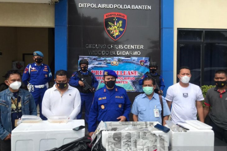 Ditpolairud Polda Banten gagalkan penyelundupan 90 ribu bibit lobster