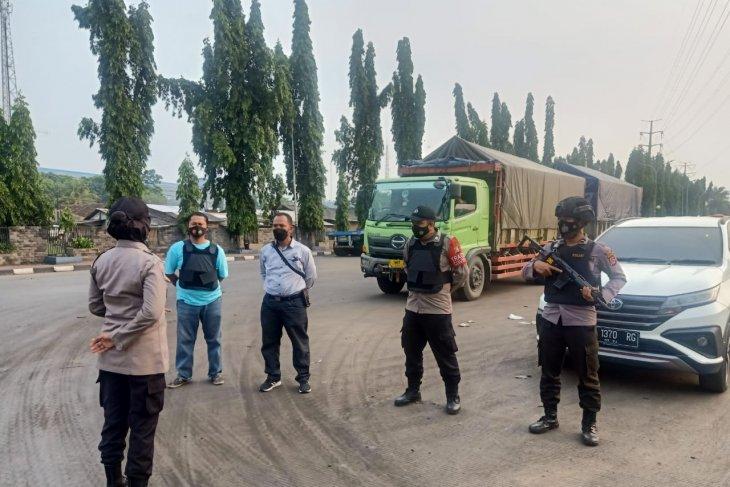Polsek Kawasan Pelabuhan Banten gelar razia premanisme di Pelabuhan KBS