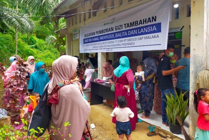 Medco Malaka bantu gizi masyarakat Aceh Timur