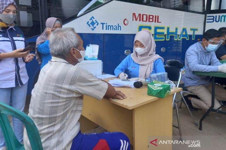 Pasien COVID-19 sembuh di Bangka Tengah 3.474 orang