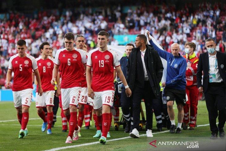 Eriksen kolaps, pertandingan Denmark lawan Finlandia ditangguhkan