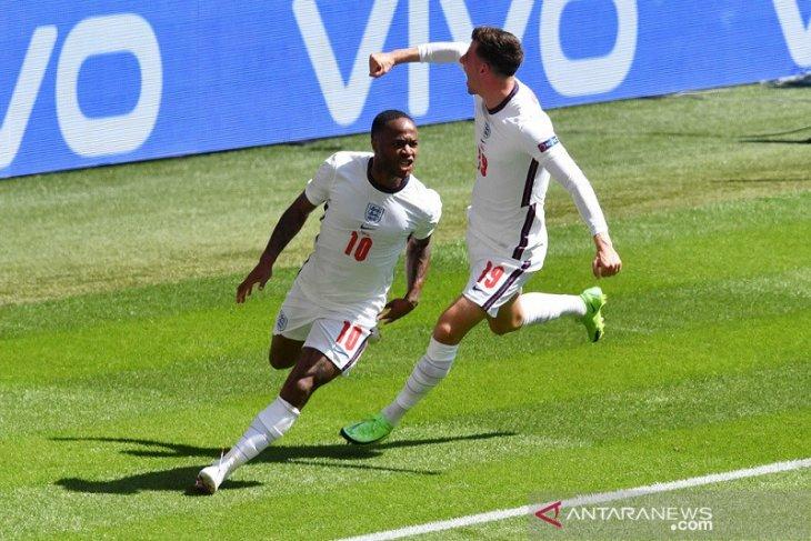 Sterling wujudkan ambisi cetak gol dalam turnamen bergengsi