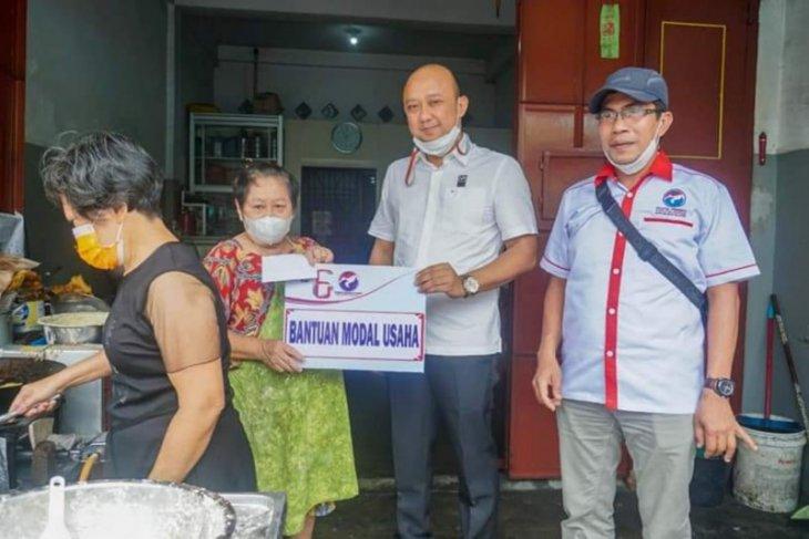 Pelaku UMKM di Kota Binjai dibantu permodalan oleh Partai Perindo