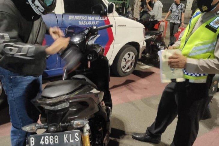 Polisi di daerah ini rajin razia motor dengan knalpot bising
