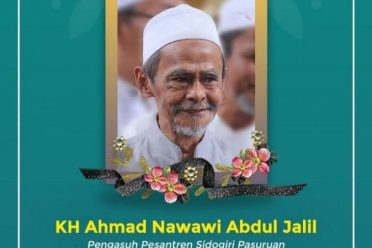 Pengasuh Ponpes Sidogiri K.H. Nawawi Abdul Jalil wafat