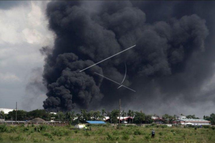 Kebakaran kilang minyak Cilacap berhasil dipadamkan