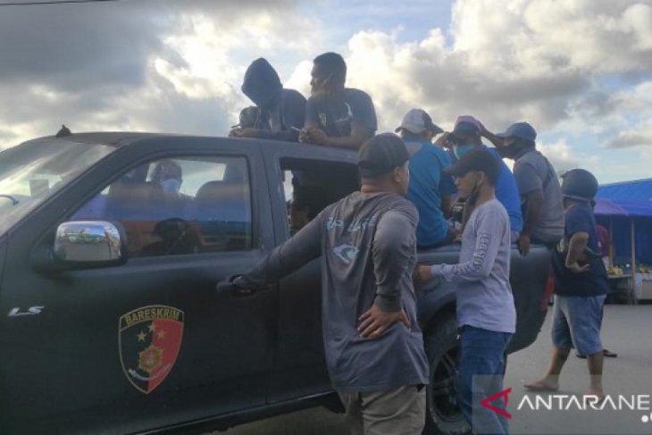 Polisi di Ambon jaring belasan pelaku premanisme begini penjelasannya
