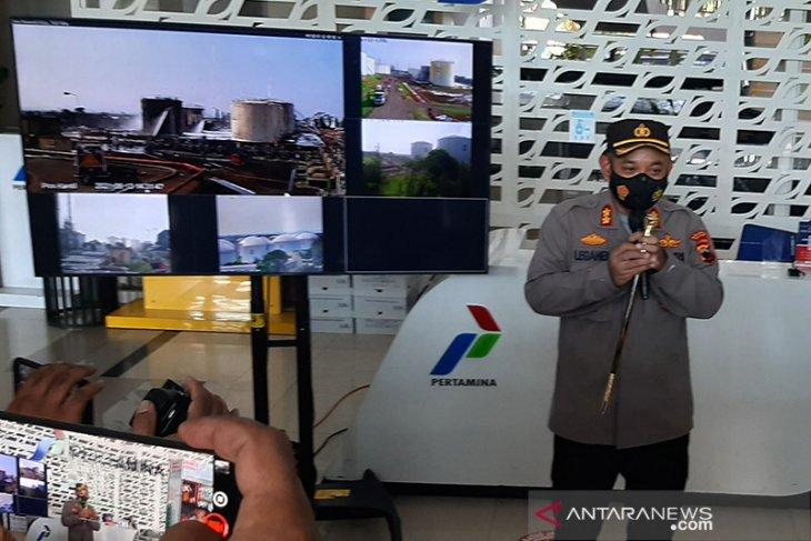 Polisi Cilacap periksa enam saksi kebakaran Kilang Pertamina
