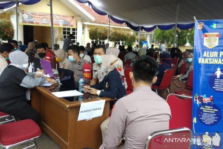 Polda Banten-Deneksyah laksanakan vaksin massal
