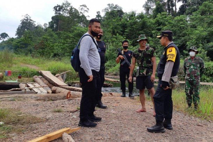 Tim gabungan disiagakan di pos pengawasan ilegal logging Kunpeh