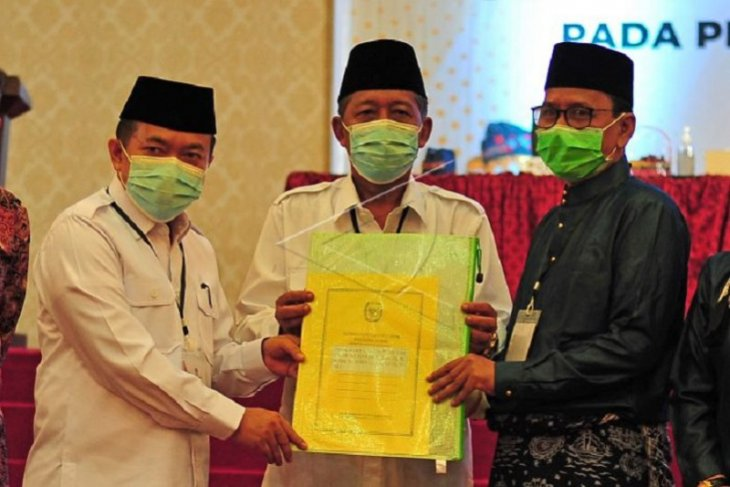 Penetapan Paslon Gubernur terpilih di Jambi