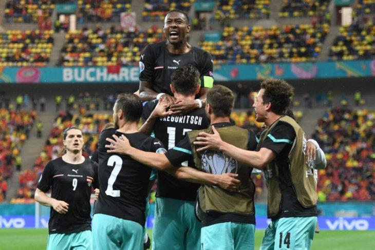 David Alaba 'Star of the Match' laga Austria vs Makedonia Utara